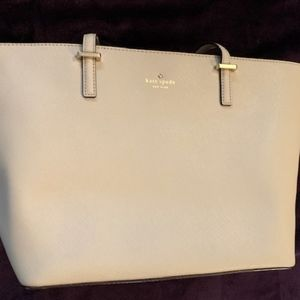 Large Kate Spade Tote Bag (clay colored)